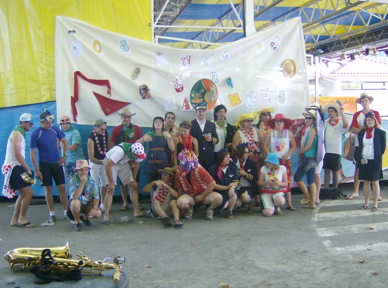 Los Gatchos en fêtes à Peyrehorade